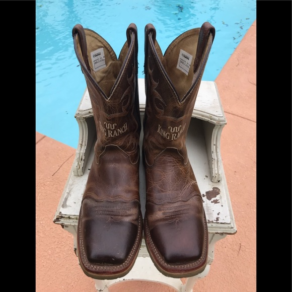 572649dab39 King Ranch Double H Boots